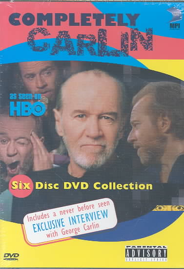 COMPLETELY CARLIN BY CARLIN,GEORGE (DVD)